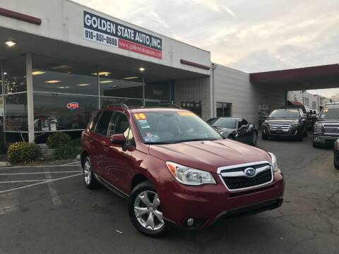 2014 Subaru Forester for sale at Golden State Auto Inc. in Rancho Cordova CA