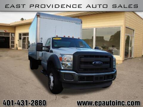 2012 Ford F-550 Super Duty for sale at East Providence Auto Sales in East Providence RI