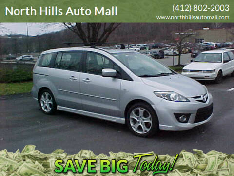 2009 Mazda MAZDA5 for sale at North Hills Auto Mall in Pittsburgh PA