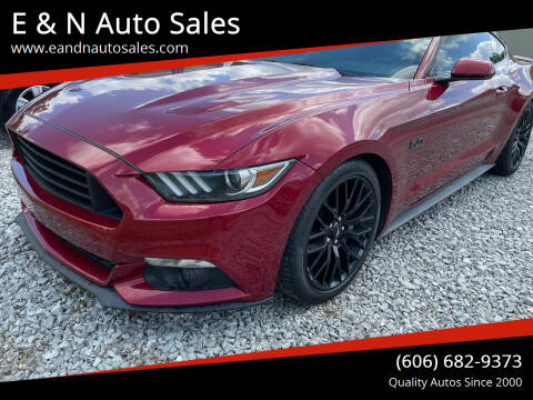 2017 Ford Mustang for sale at E & N Auto Sales in London KY