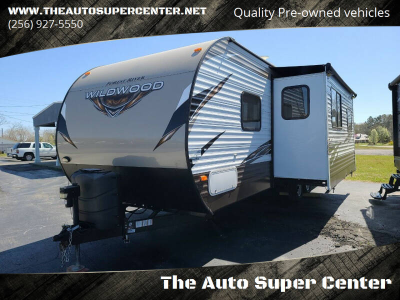 2018 ForestRiver Wildwood for sale at The Auto Super Center in Centre AL
