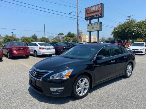 2015 Nissan Altima for sale at Autohaus of Greensboro in Greensboro NC