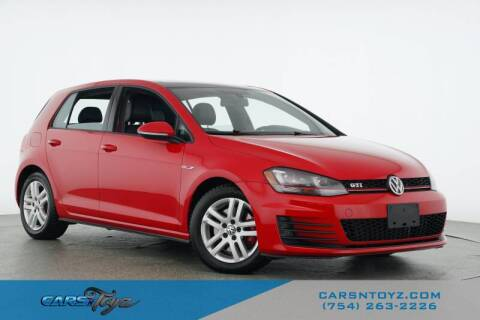 2015 Volkswagen Golf GTI for sale at JumboAutoGroup.com - Carsntoyz.com in Hollywood FL
