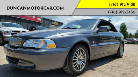 2004 Volvo C70 for sale at DuncanMotorcar.com in Buffalo NY