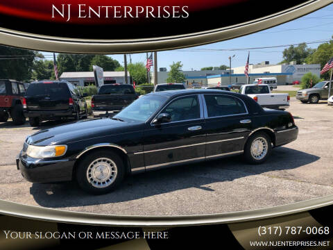 1998 Lincoln Town Car for sale at NJ Enterprises in Indianapolis IN