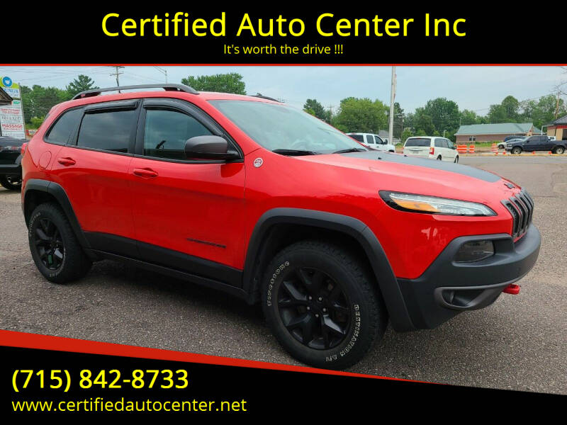 2017 Jeep Cherokee for sale at Certified Auto Center Inc in Wausau WI