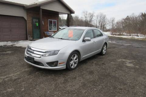 2012 Ford Fusion for sale at Clearwater Motor Car in Jamestown NY