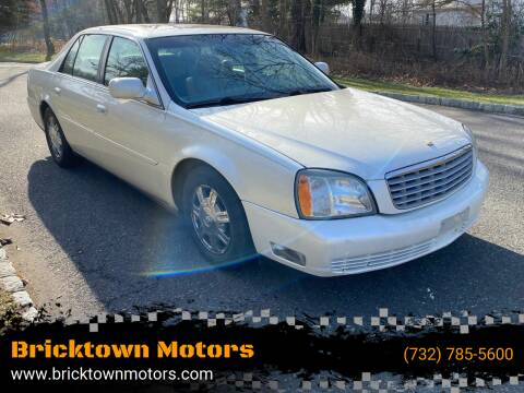 2003 Cadillac DeVille for sale at Bricktown Motors in Brick NJ