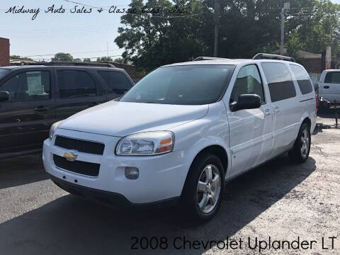 2008 Chevrolet Uplander for sale at MIDWAY AUTO SALES & CLASSIC CARS INC in Fort Smith AR