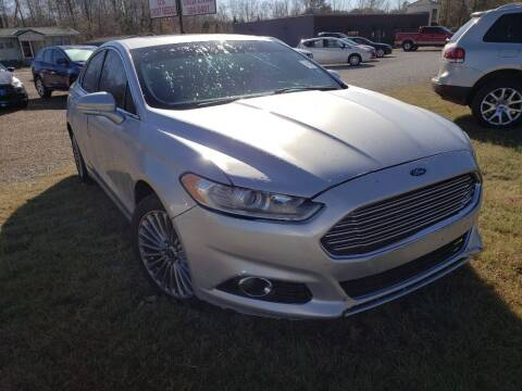 2014 Ford Fusion for sale at Scarletts Cars in Camden TN