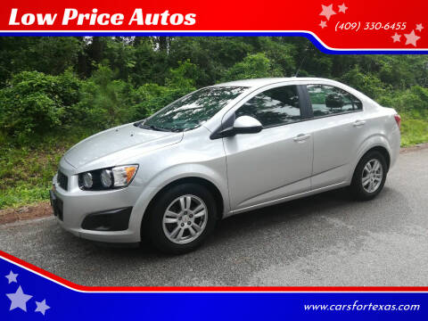 2012 Chevrolet Sonic for sale at Low Price Autos in Beaumont TX