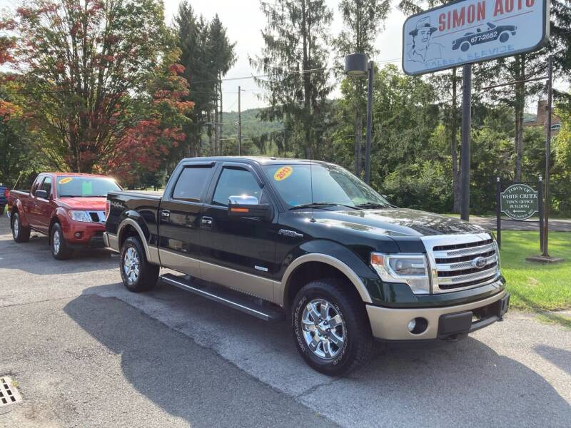 2013 Ford F-150 for sale at JERRY SIMON AUTO SALES in Cambridge NY