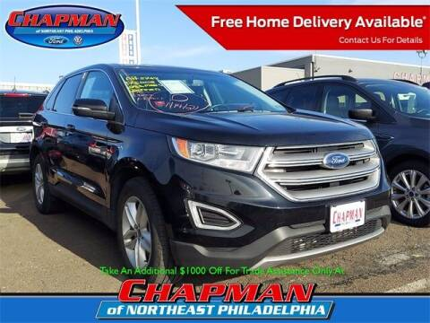 2017 Ford Edge for sale at CHAPMAN FORD NORTHEAST PHILADELPHIA in Philadelphia PA
