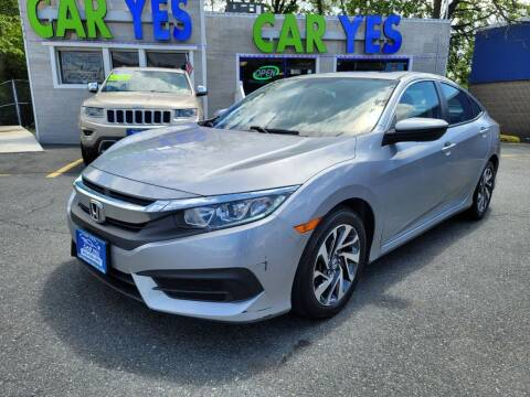 2017 Honda Civic for sale at Car Yes Auto Sales in Baltimore MD