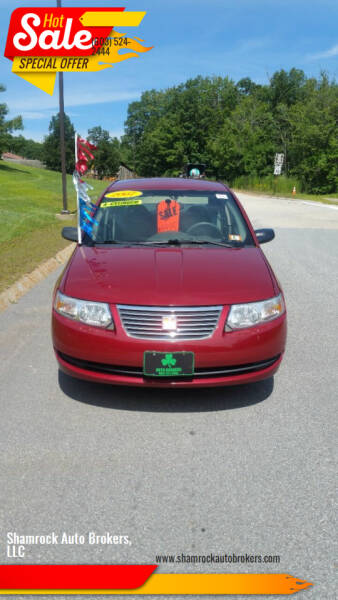 2007 Saturn Ion for sale at Shamrock Auto Brokers, LLC in Belmont NH