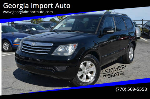 2009 Kia Borrego for sale at Georgia Import Auto in Alpharetta GA