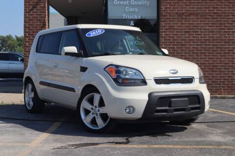 2010 Kia Soul for sale at Hobart Auto Sales in Hobart IN