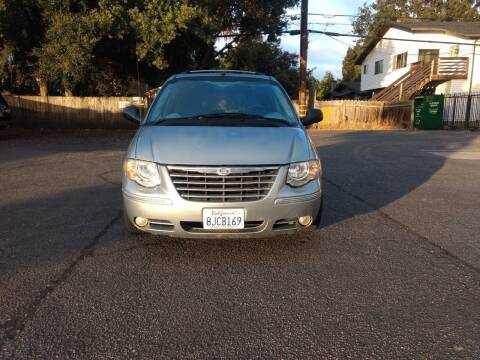 2005 Chrysler Town and Country for sale at Auto City in Redwood City CA