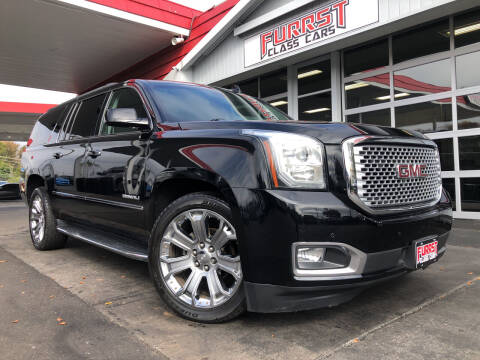 2016 GMC Yukon XL for sale at Furrst Class Cars LLC  - Independence Blvd. in Charlotte NC