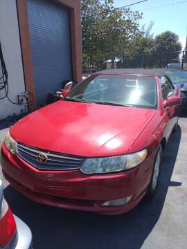 2003 Toyota Camry Solara for sale at LAND & SEA BROKERS INC in Deerfield FL