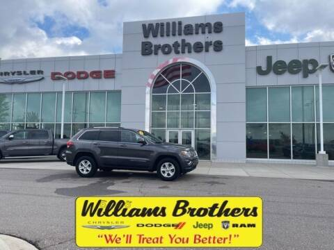 2015 Jeep Grand Cherokee for sale at Williams Brothers - Pre-Owned Monroe in Monroe MI