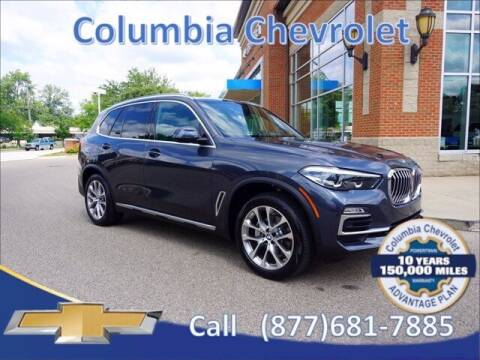 2020 BMW X5 for sale at COLUMBIA CHEVROLET in Cincinnati OH
