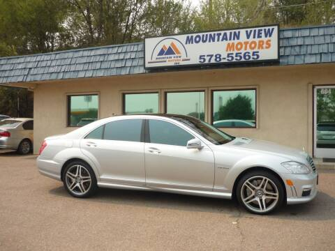 2010 Mercedes-Benz S-Class for sale at Mountain View Motors Inc in Colorado Springs CO