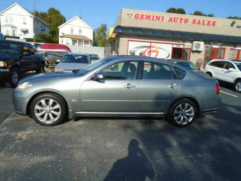 2006 Infiniti M35 for sale at Gemini Auto Sales in Providence RI