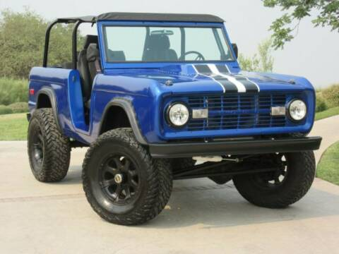 1973 Ford Bronco for sale at Classic Car Deals in Cadillac MI