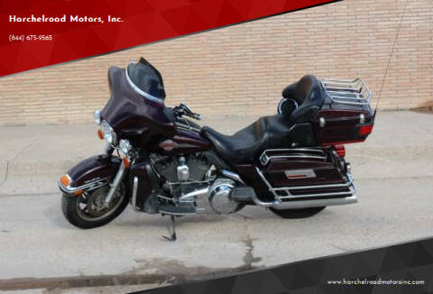 2007 Harley Davidson ULTRA CLAS for sale at Harchelroad Motors, Inc. in Imperial NE