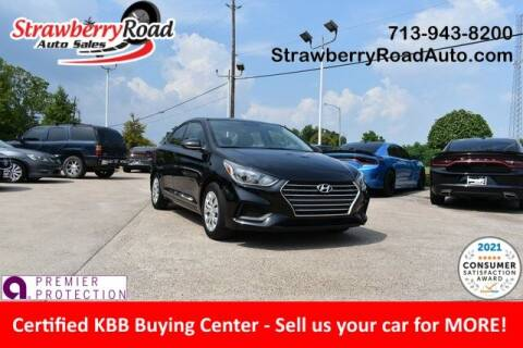 2020 Hyundai Accent for sale at Strawberry Road Auto Sales in Pasadena TX