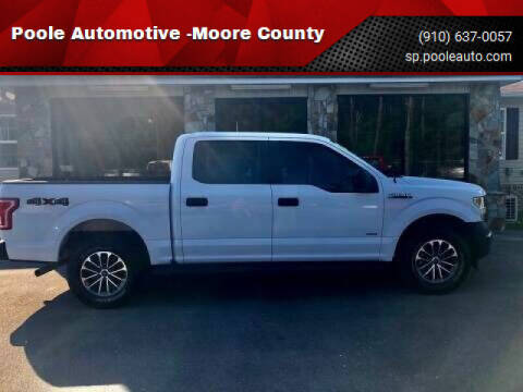 2017 Ford F-150 for sale at Poole Automotive -Moore County in Aberdeen NC