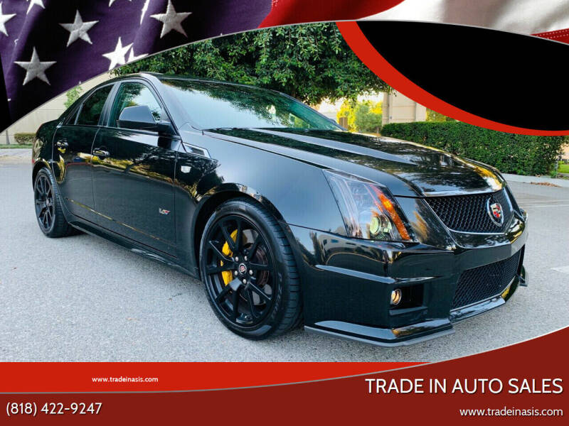 2011 Cadillac CTS-V for sale at Trade In Auto Sales in Van Nuys CA