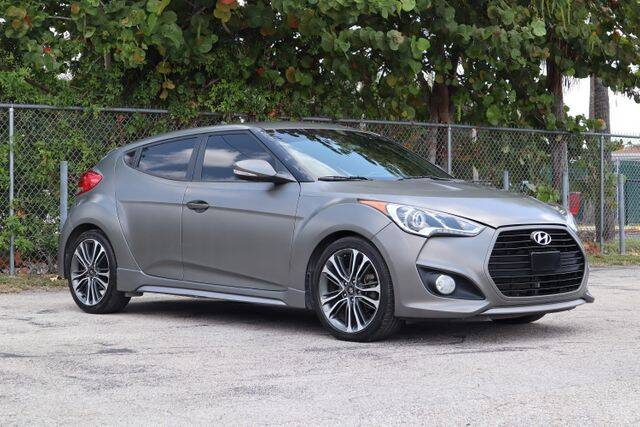 2016 Hyundai Veloster for sale at No 1 Auto Sales in Hollywood FL