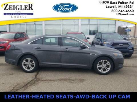 2018 Ford Taurus for sale at Zeigler Ford of Plainwell- Jeff Bishop in Plainwell MI