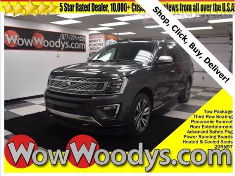 2020 Ford Expedition MAX for sale at WOODY'S AUTOMOTIVE GROUP in Chillicothe MO