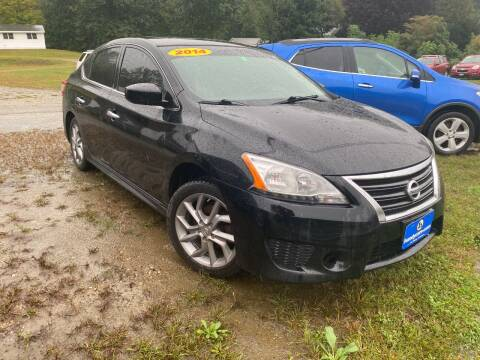 2014 Nissan Sentra for sale at Wright's Auto Sales LLC in Townshend VT