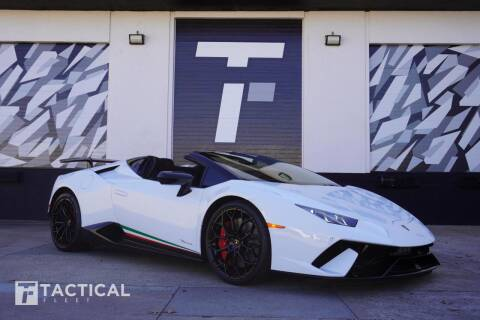 2018 Lamborghini Huracan for sale at Tactical Fleet in Addison TX
