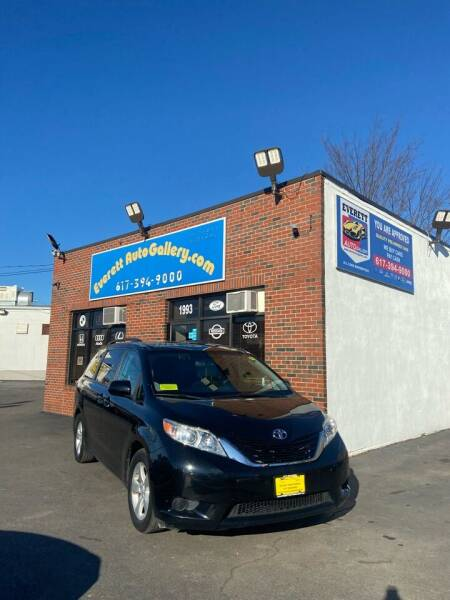 2015 Toyota Sienna for sale at Everett Auto Gallery in Everett MA