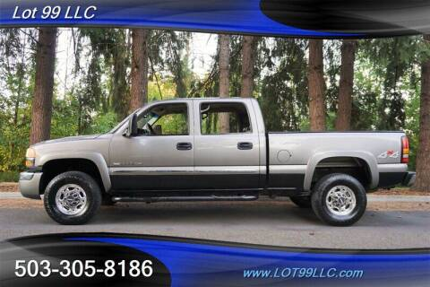 2007 GMC Sierra 2500HD Classic for sale at LOT 99 LLC in Milwaukie OR
