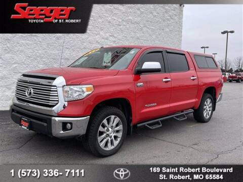 2014 Toyota Tundra for sale at SEEGER TOYOTA OF ST ROBERT in St Robert MO