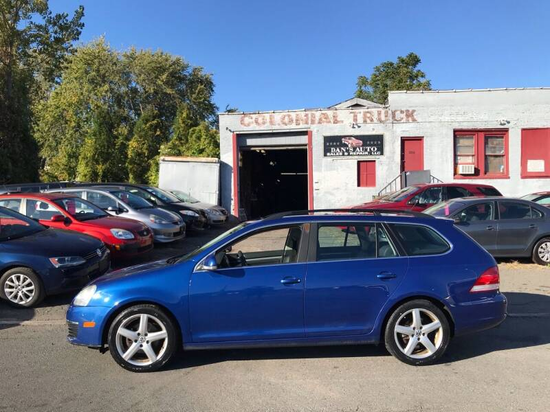 2009 Volkswagen Jetta for sale at Dan's Auto Sales and Repair LLC in East Hartford CT