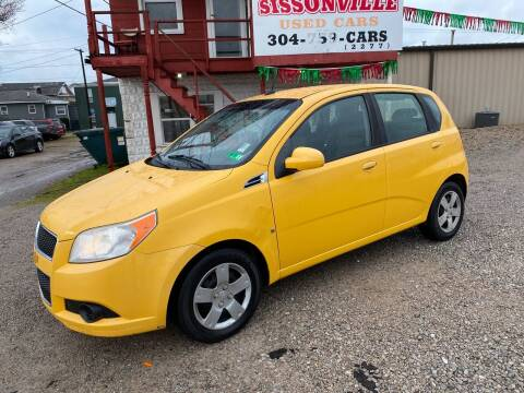 2009 Chevrolet Aveo for sale at Sissonville Used Cars in Charleston WV