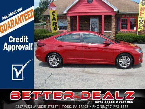 2019 Hyundai Elantra for sale at Better Dealz Auto Sales & Finance in York PA