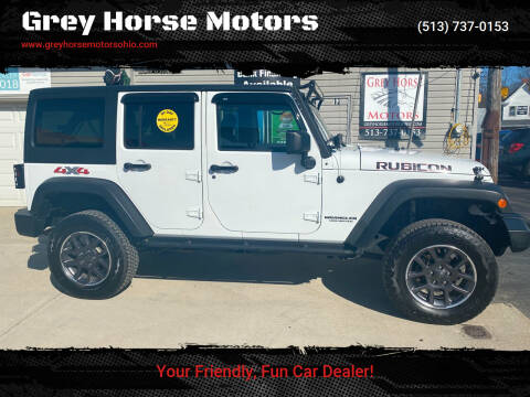 2014 Jeep Wrangler Unlimited for sale at Grey Horse Motors in Hamilton OH