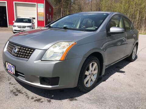 2007 Nissan Sentra for sale at Walton's Motors in Gouverneur NY