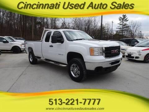 2012 GMC Sierra 2500HD for sale at Cincinnati Used Auto Sales in Cincinnati OH