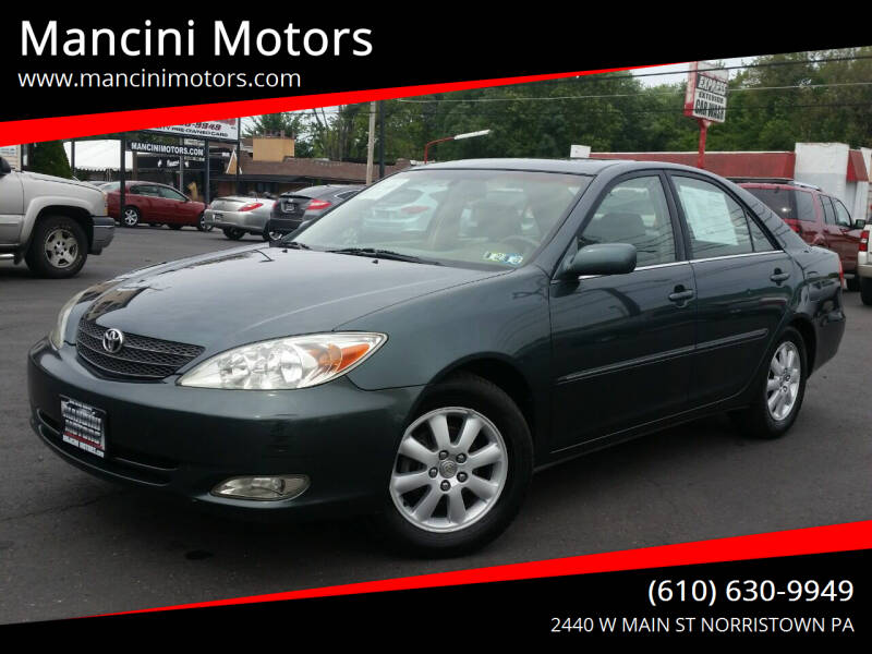 2003 Toyota Camry for sale at Mancini Motors in Norristown PA