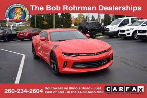 2016 Chevrolet Camaro for sale at BOB ROHRMAN FORT WAYNE TOYOTA in Fort Wayne IN
