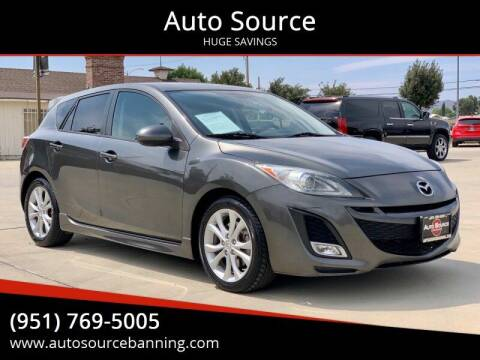 2010 Mazda MAZDA3 for sale at Auto Source in Banning CA